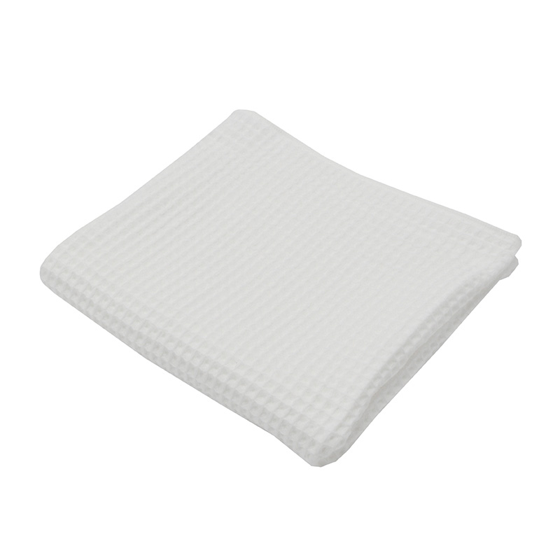 THE CONRAN SHOP ORIGINAL WAFFLE&GAUZE BATH TOWEL WHITE
