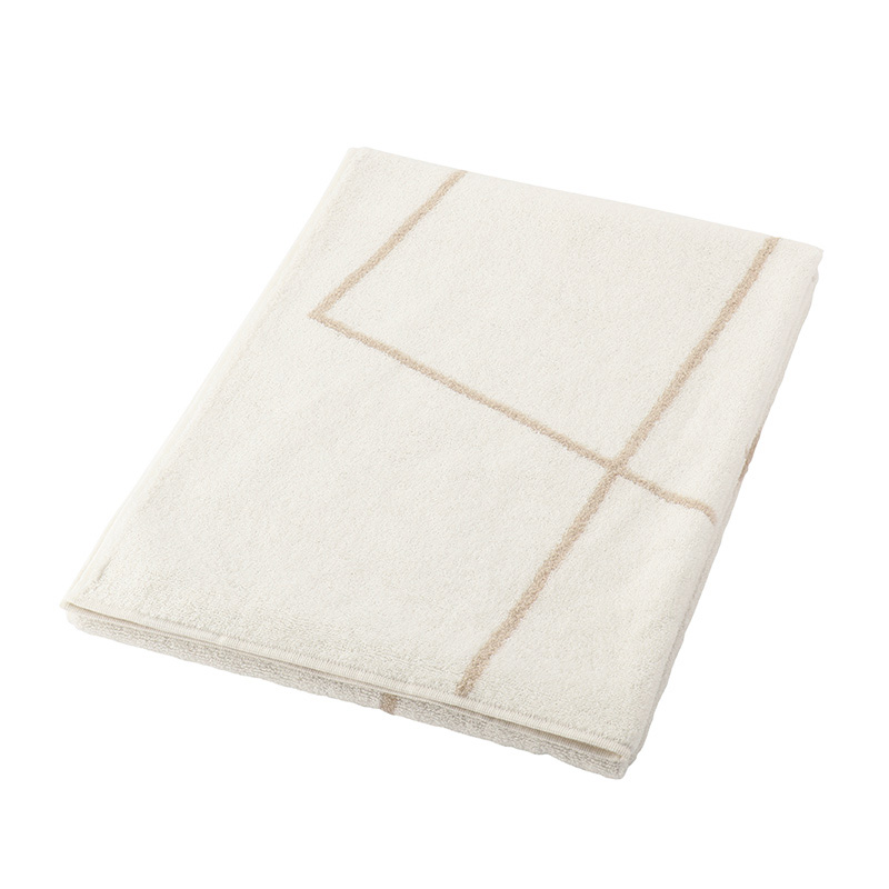 ORIGINAL LINE TOWEL L 60X130 IVORYXBEIGE