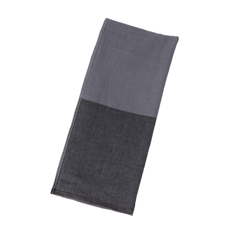 5TREES DIVISION8 FACE TOWEL34×80 CHARCOAL GRAY