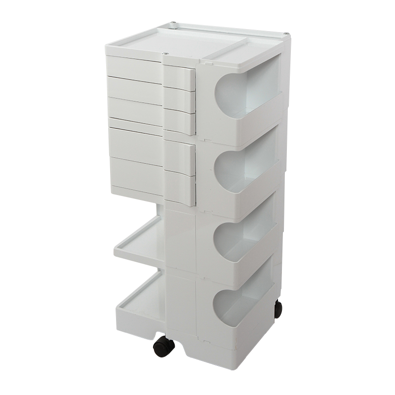 BOBY WAGON 4  / 5 TRAY WHITE
