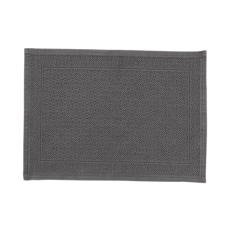 ORIGINAL PLAIN BATH MAT 70×50CM GREY