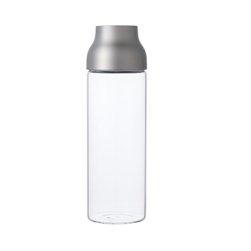 KINTO CAPSULE WATER CARAFE 1L STAINLESS STEEL