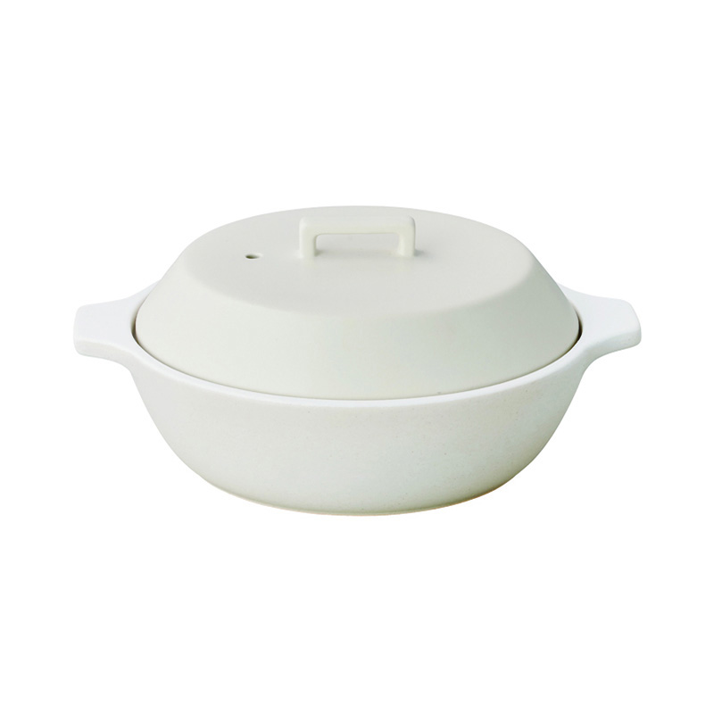 KAKOMI IH土鍋 1.2L WHITE
