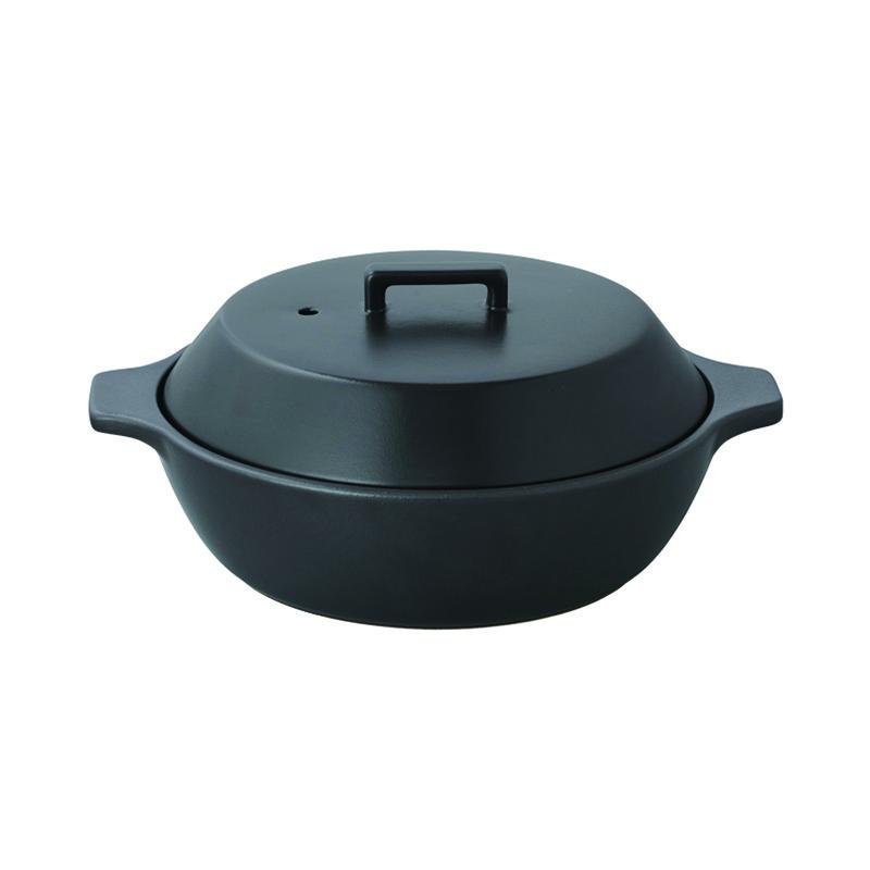 KAKOMI IH土鍋 1.2L BLACK