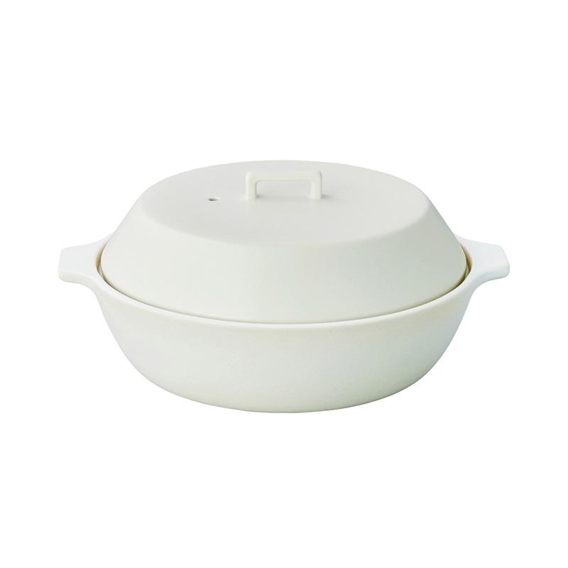 KAKOMI IH土鍋 2.5L WHITE