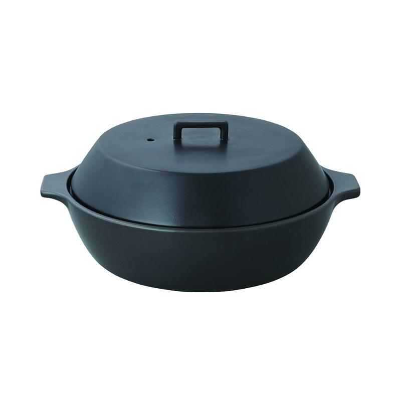 KAKOMI IH土鍋 2.5L BLACK