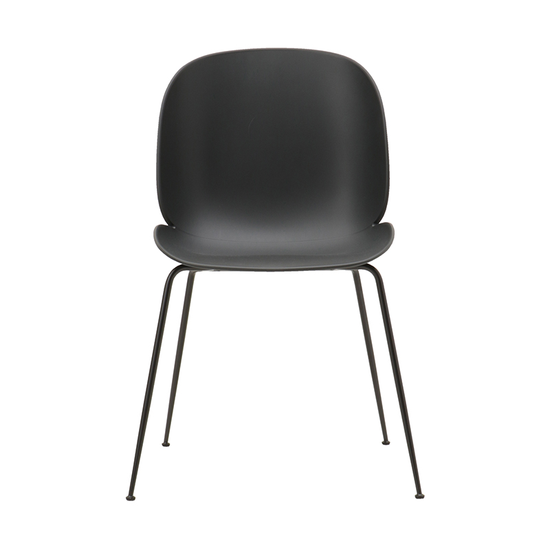 BEETLE CHAIR UNUPHOLSTERED BLK/BLK