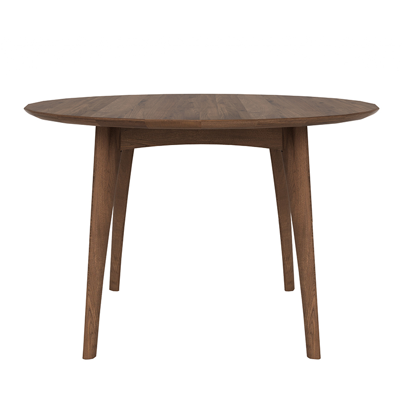 WALNUT OSSO ROUND DINING TABLE
