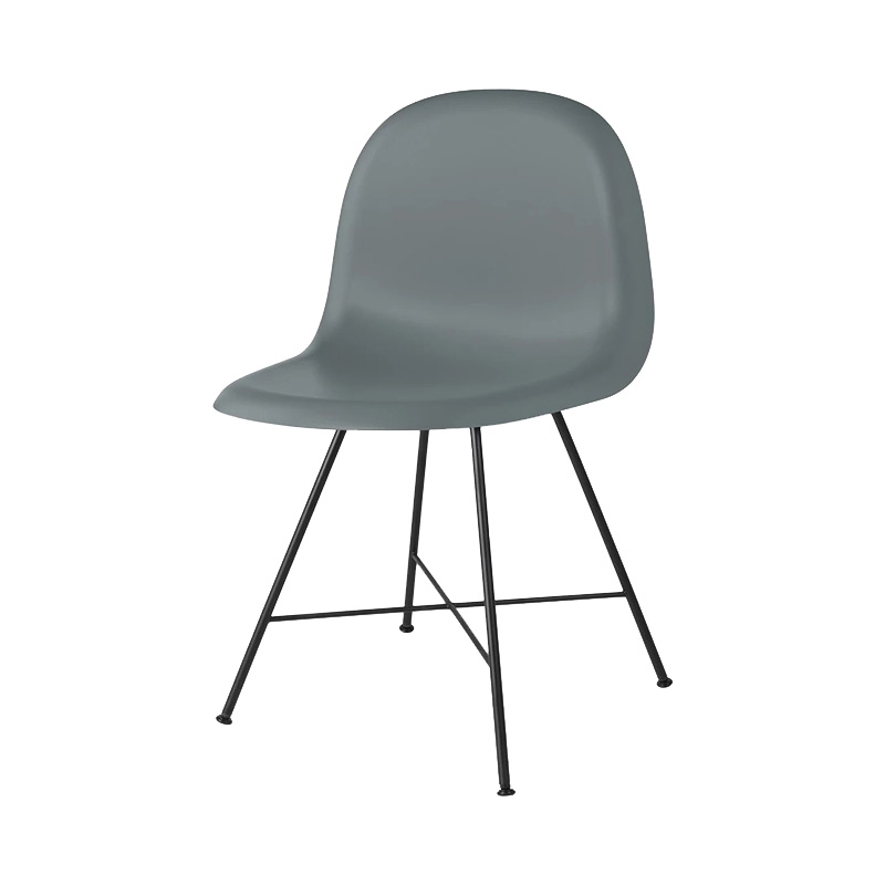 3D CHAIR UNUPHOLSTERED RAINY GREY