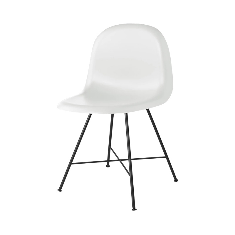 3D CHAIR UNUPHOLSTERED SOFT WHITE