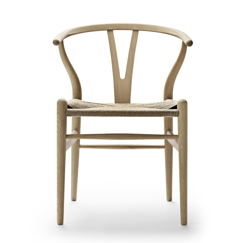 CH24 Y CHAIR OAK SOAP FINISHED / NATURAL PAPER CORD SEAT SH45