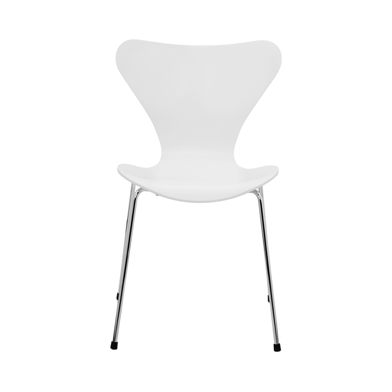 SERIES 7 CHAIR LACQUER WHITE SHEET HIGH 43