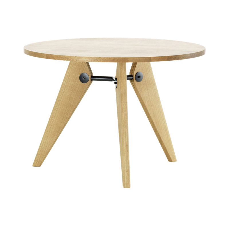 GUERIDON TABLE D1050 NATURAL SOLID OAK