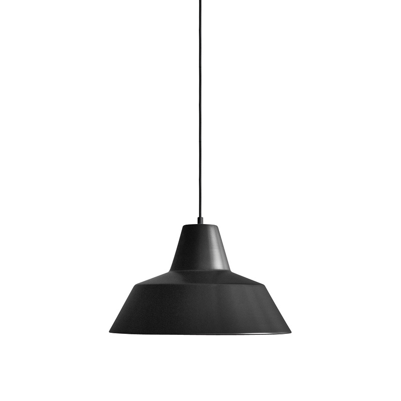 THE WORKSHOP LAMP BLACK MEDIUM