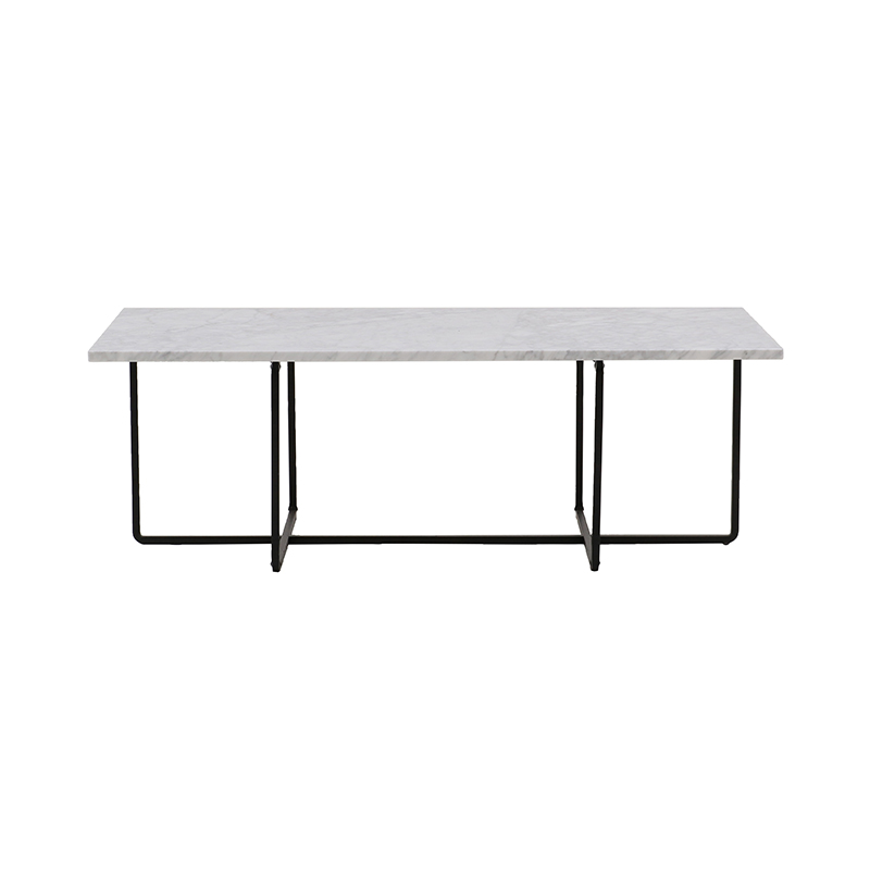 NINETY COFFEE TABLE WHITE CARRARA