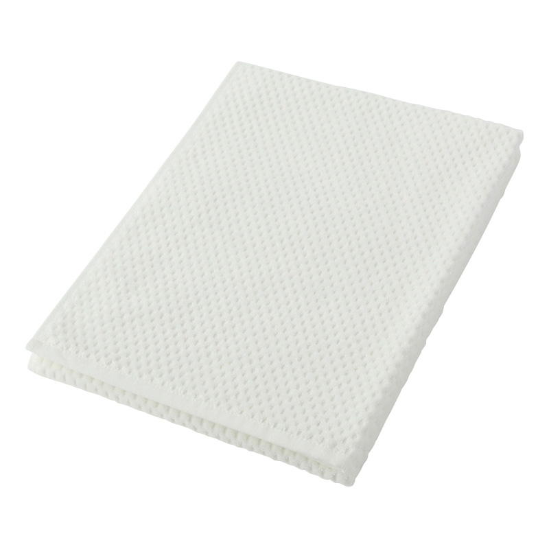 HALF CUT BATH TOWEL WHITE