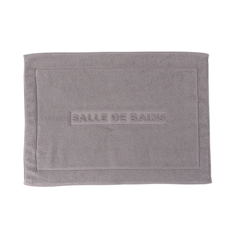 CONRAN ORIGINAL BATH MAT DARK GREY  50X68