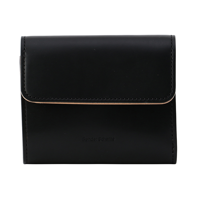 HENDER SCHEME BELLOWS WALLET BLACK