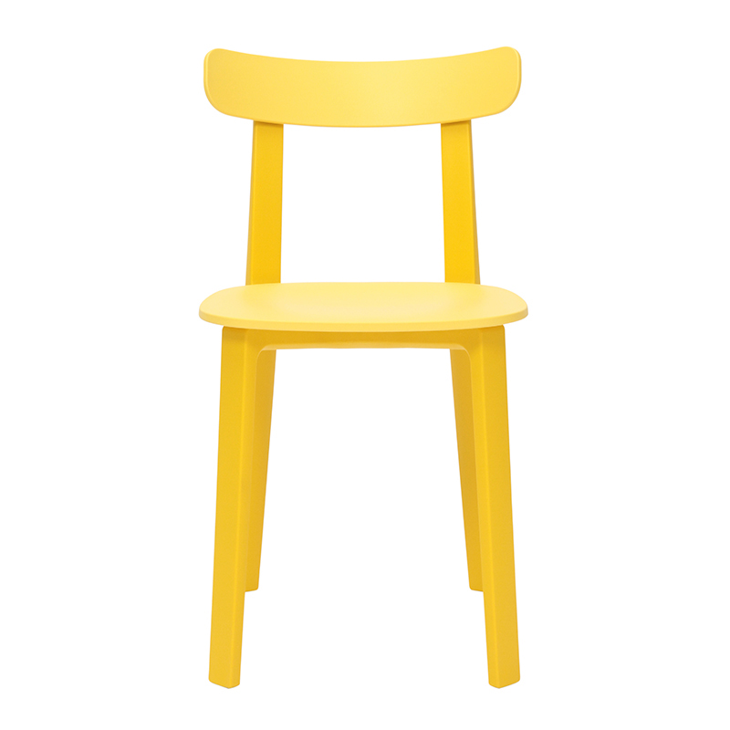 ALL PLASTIC CHAIR BUTTERCUP