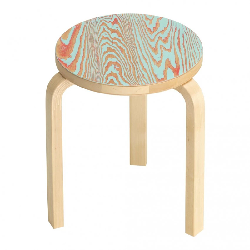 STOOL60 COLORING TURQUOISE