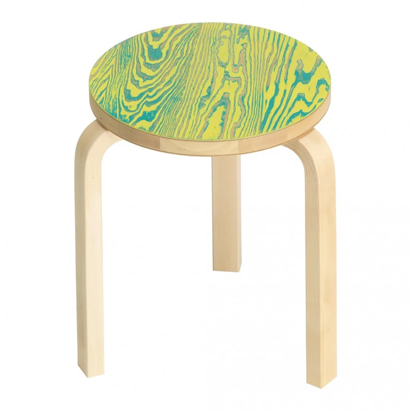 STOOL60 COLORING GREEN/YELLOW
