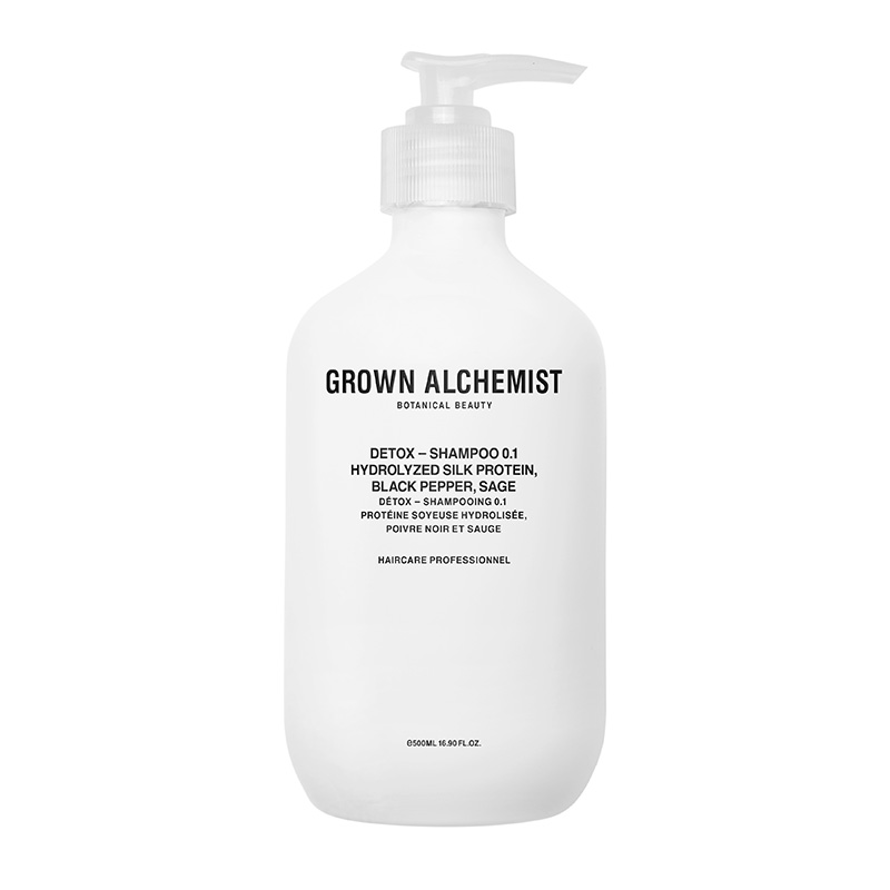 GROWN ALCHEMIST/DETOX 0.1/DT SHAMPOO 500ML