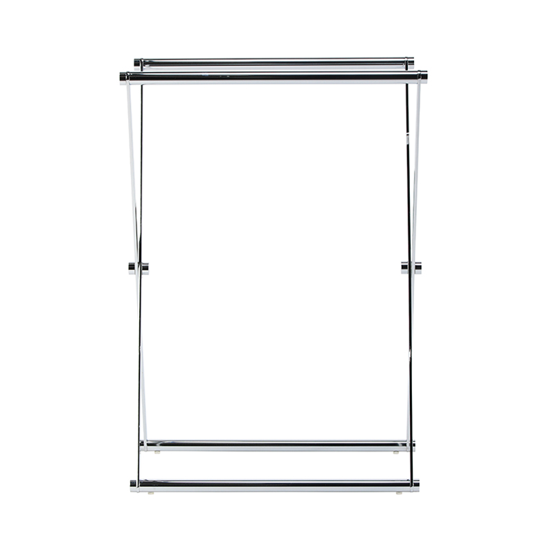 DECOR WALTHER CROSS 1 TOWEL STAND CHROME