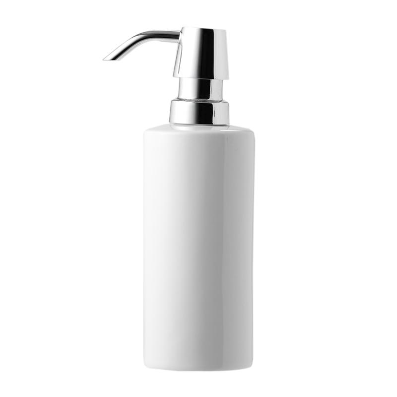 DECOR WALTHER SOAP DISPENSER PORCELAIN WHITE / CHROME