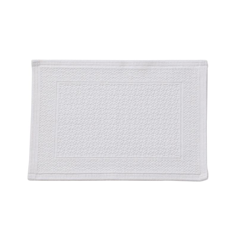 ORIGINAL PLAIN BATH MAT 30X50CM WHITE