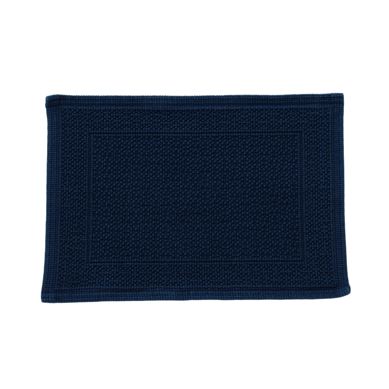 ORIGINAL PLAIN BATH MAT 30X50CM NAVY