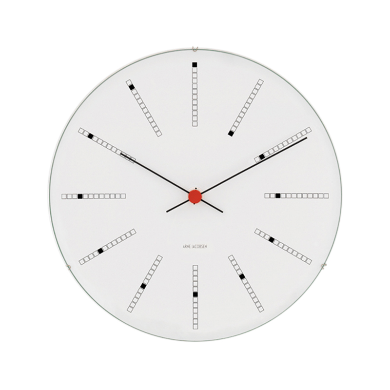 A.JACOBSEN BANKERS WALL CLOCK 290