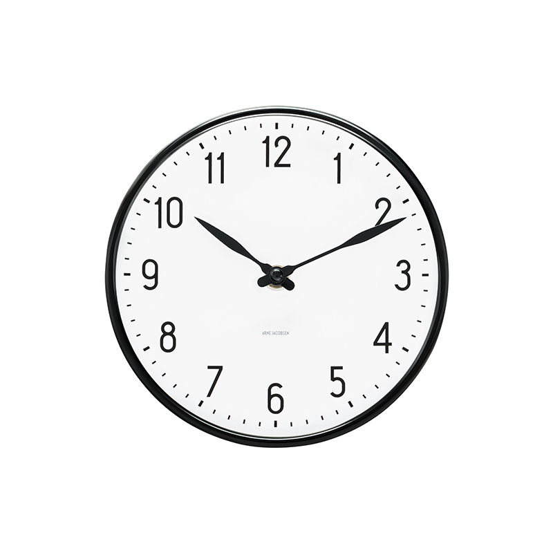 ARNE JACOBSEN WALL CLOCK STATION 210MM