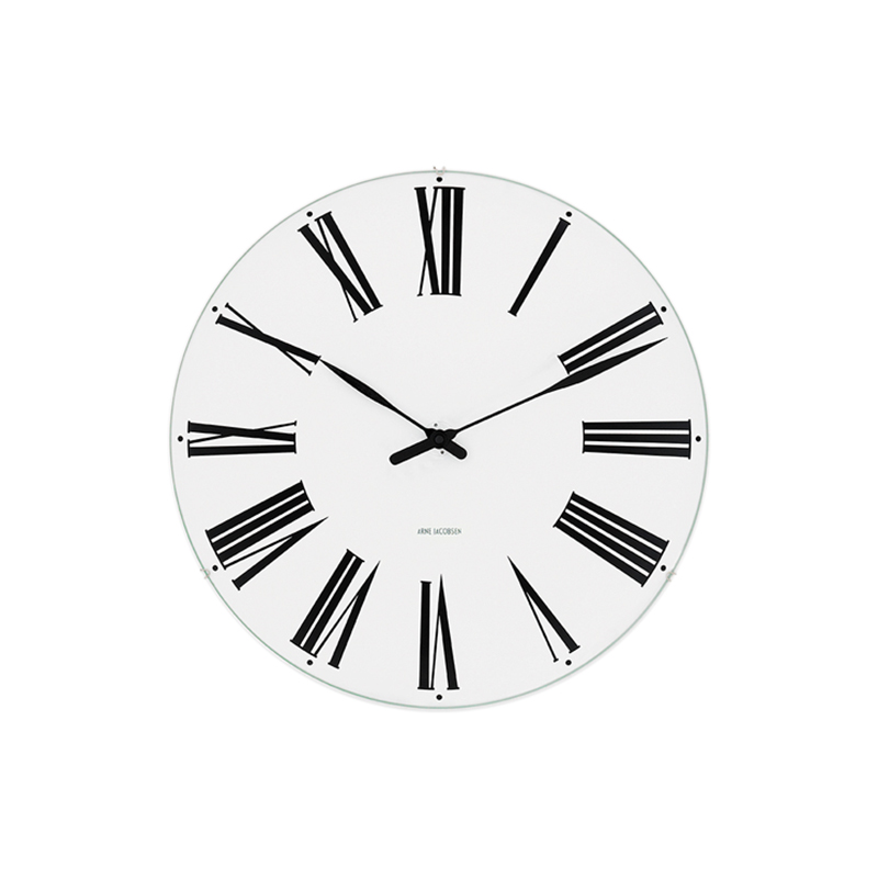 ARNE JACOBSEN WALL CLOCK ROMAN 210MM