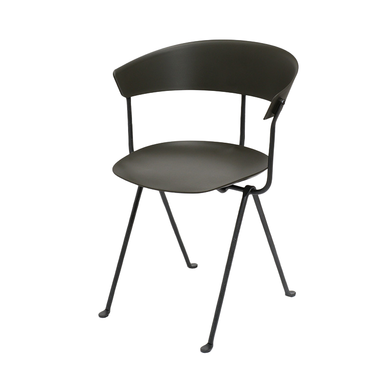 OFFICINA CHAIR GREEN/BLACK