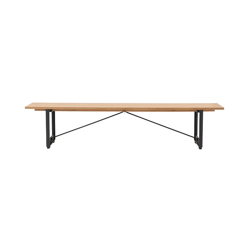 BRUT BENCH W220x350 OAK/GREY