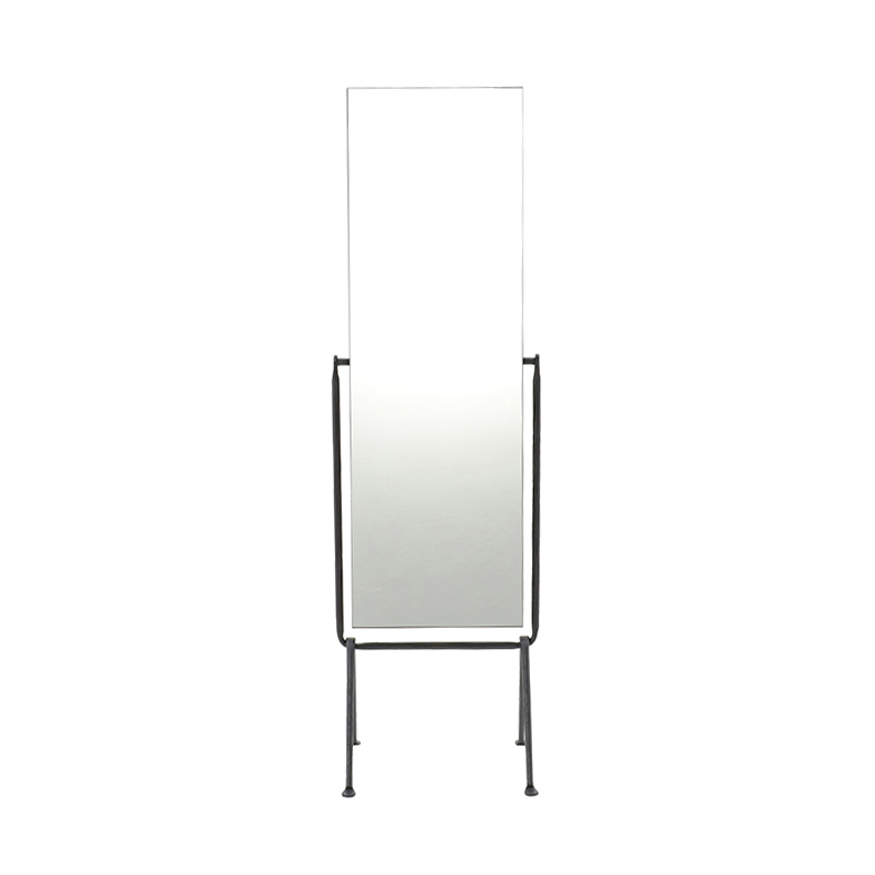 OFFICINA FLOOR MIRROR BLACK/BLACK
