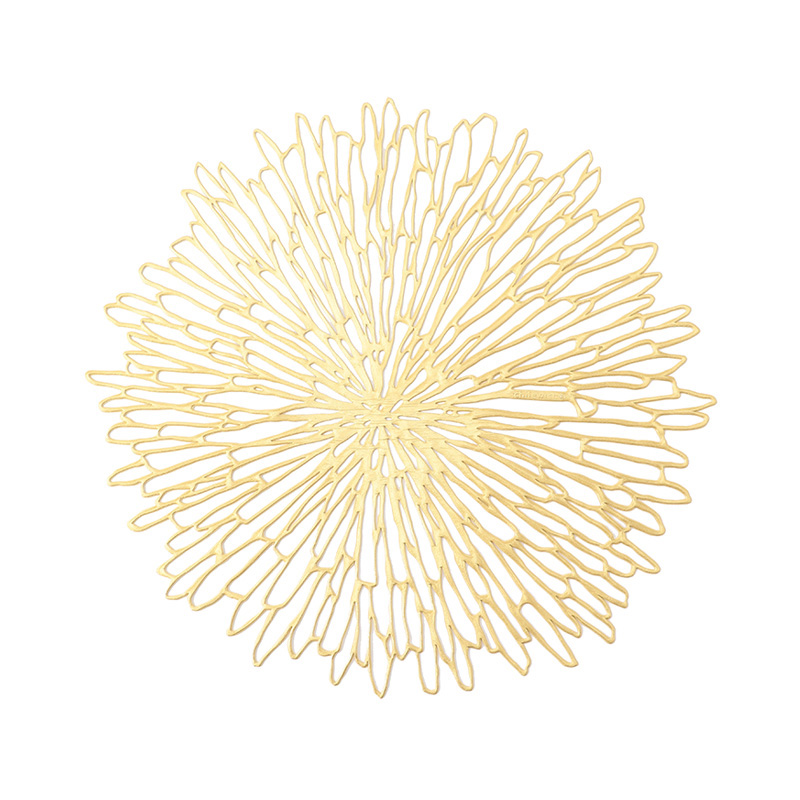 CHILWICH BLOOM PLACEMAT GILDED
