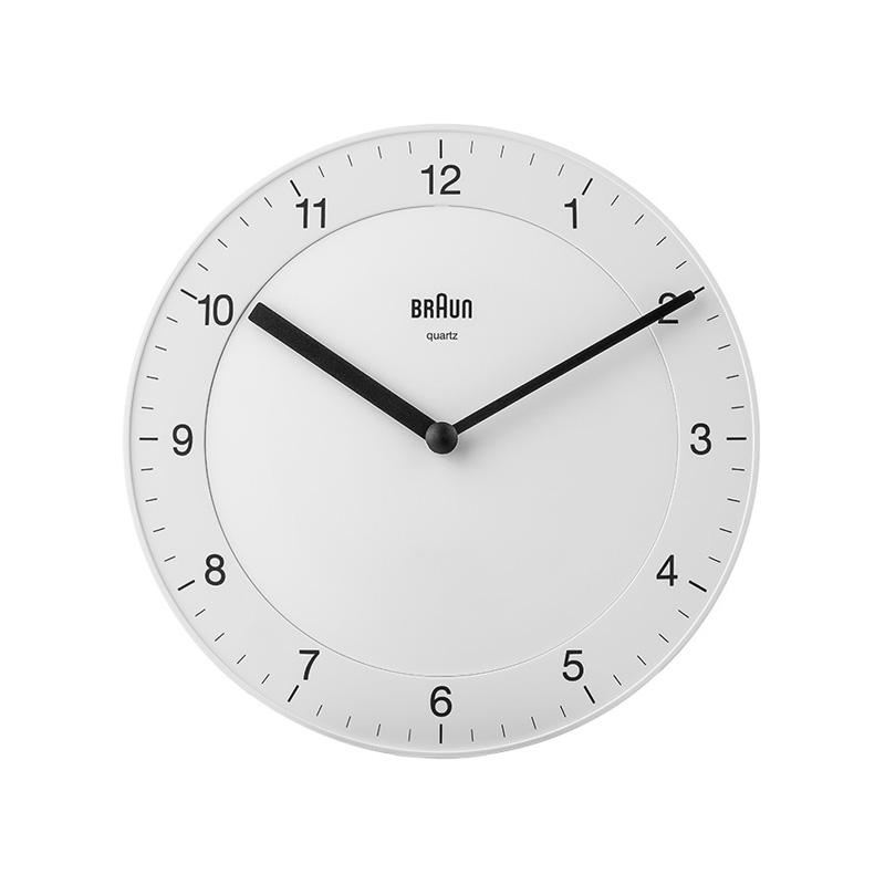 BRAUN BC06W WALL CLOCK WHITE