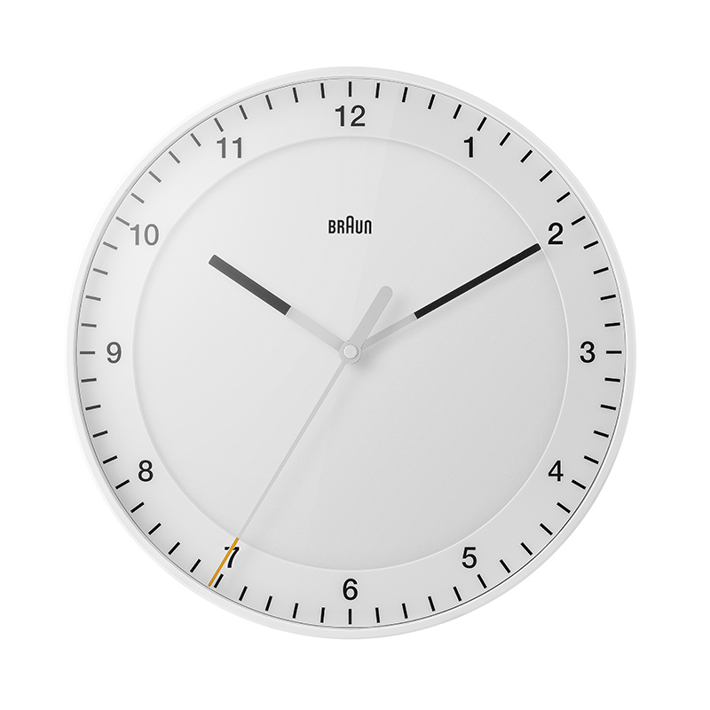 BRAUN BC17W WALL CLOCK WHITE