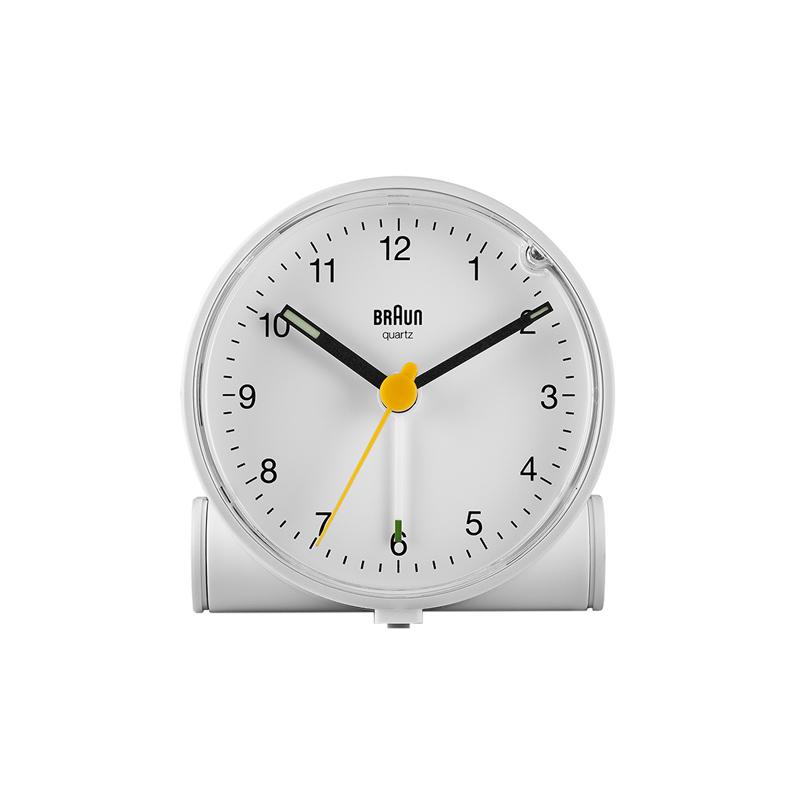 BRAUN BC01W ALARM CLOCK WHITE