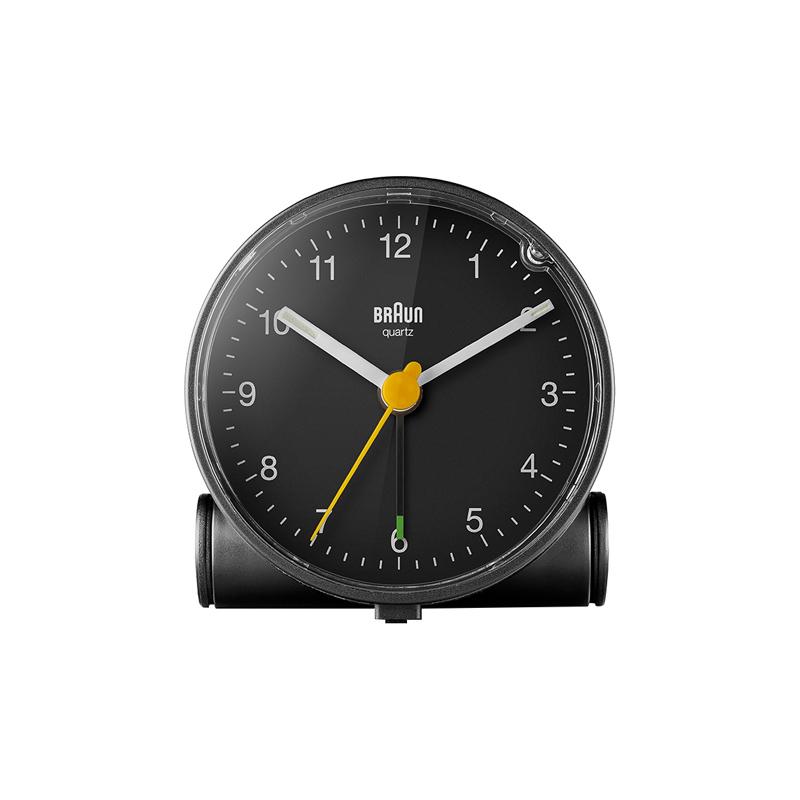 BRAUN BC01B ALARM CLOCK BLACK