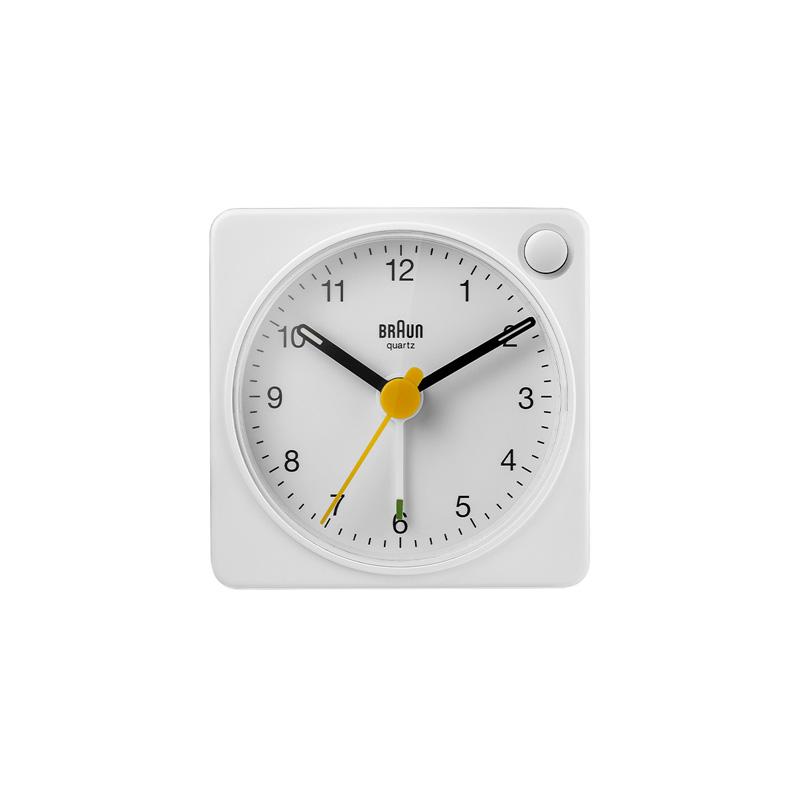 BRAUN BC02XW ALARM CLOCK WHITE