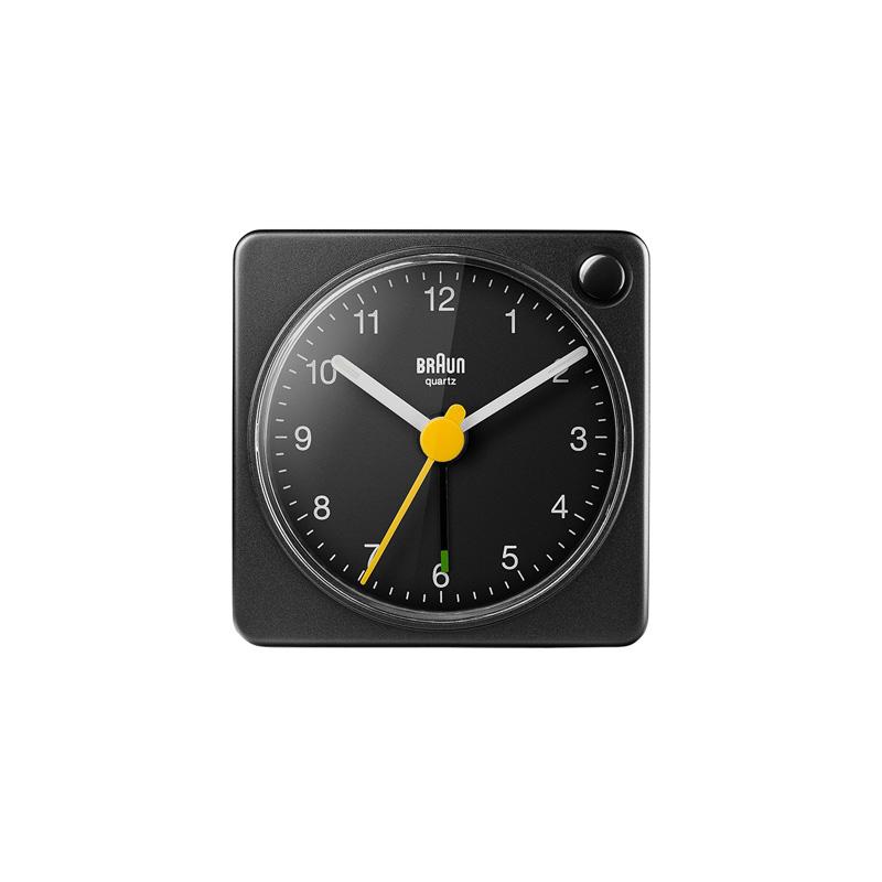 BRAUN BC02XB ALARM CLOCK BLACK