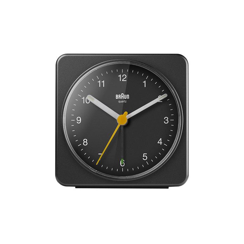 BRAUN BC03B ALARM CLOCK BLACK