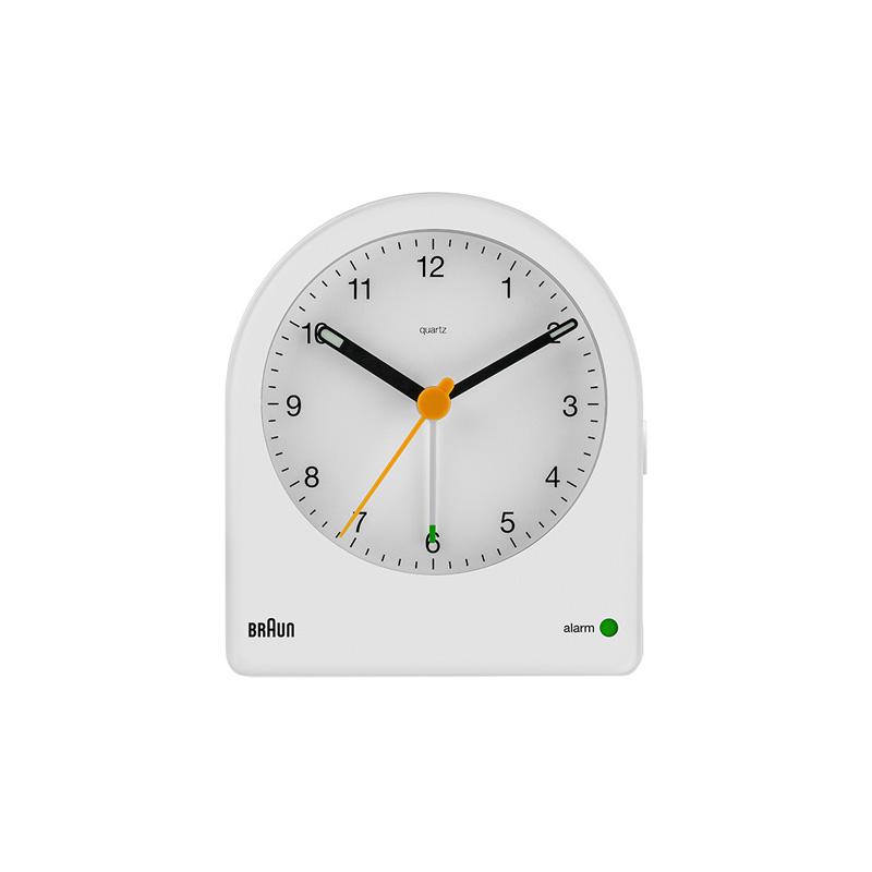 BRAUN BC22W ALARM CLOCK WHITE