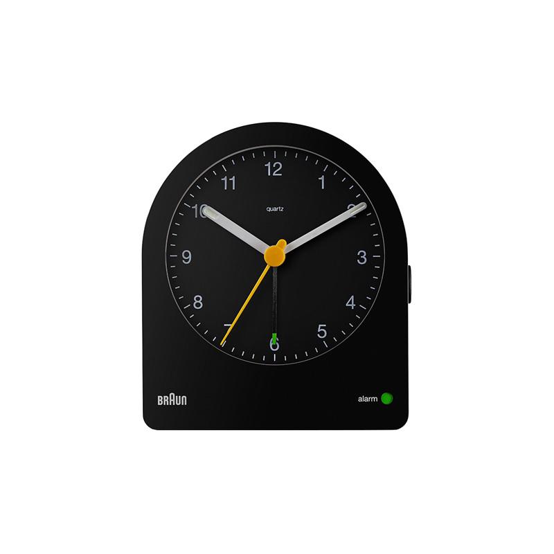 BRAUN BC22B ALARM CLOCK BLACK
