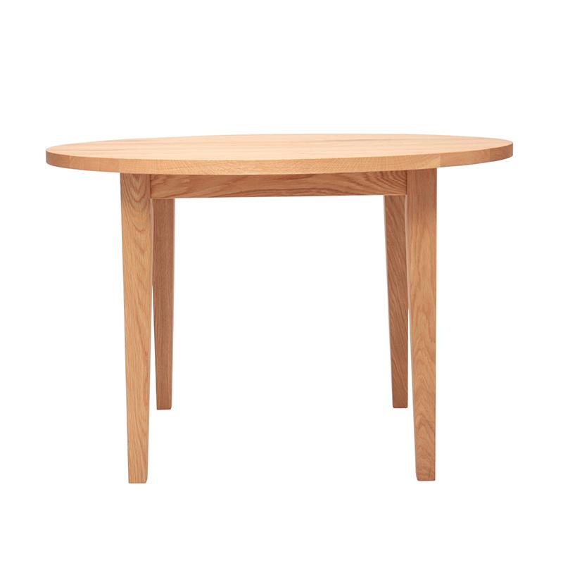 BARREL ROUND TABLE OAK