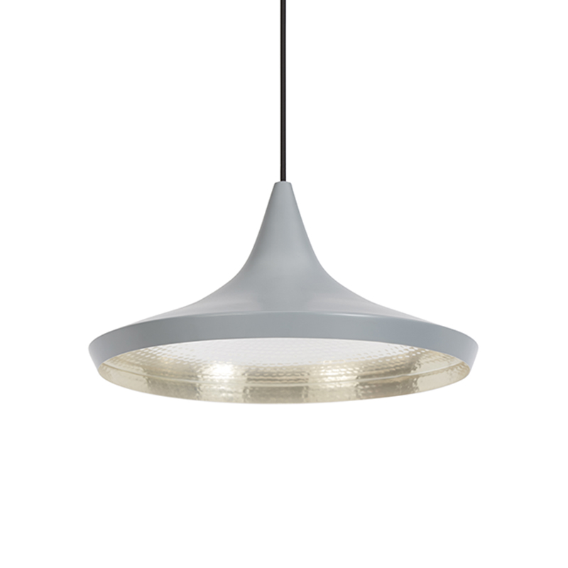 BEAT WIDE PENDANT GREY
