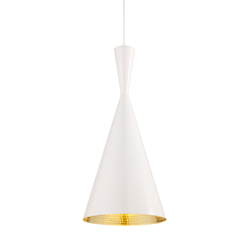 BEAT TALL PENDANT WHITE