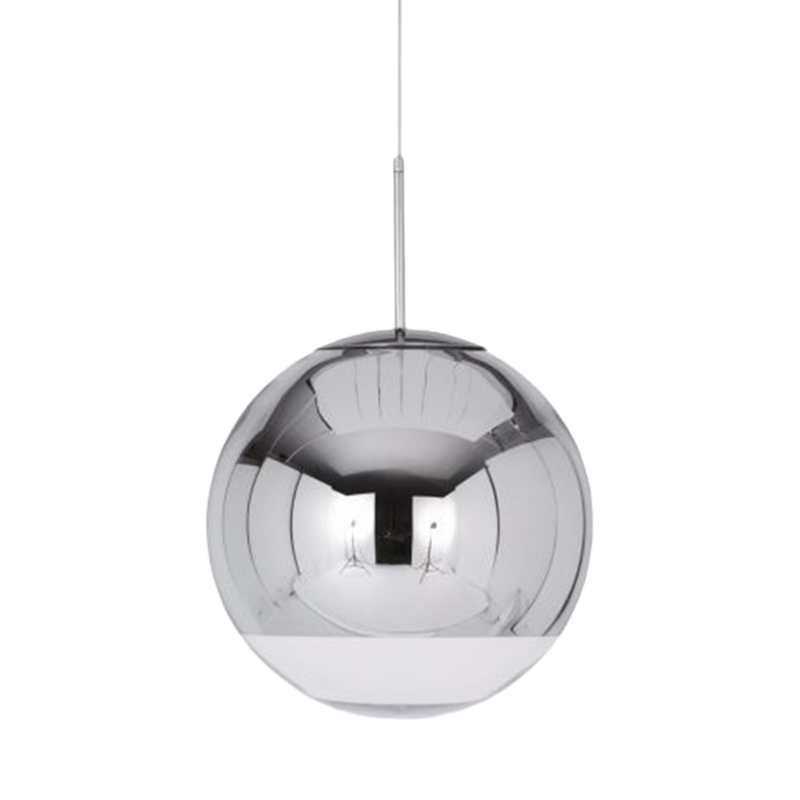 MIRROR BALL PENDANT 40 CHROME